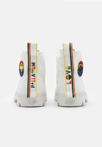 Palladium - PAMPA PRIDE X SMILEY - Lace-up ankle boots - white - 2