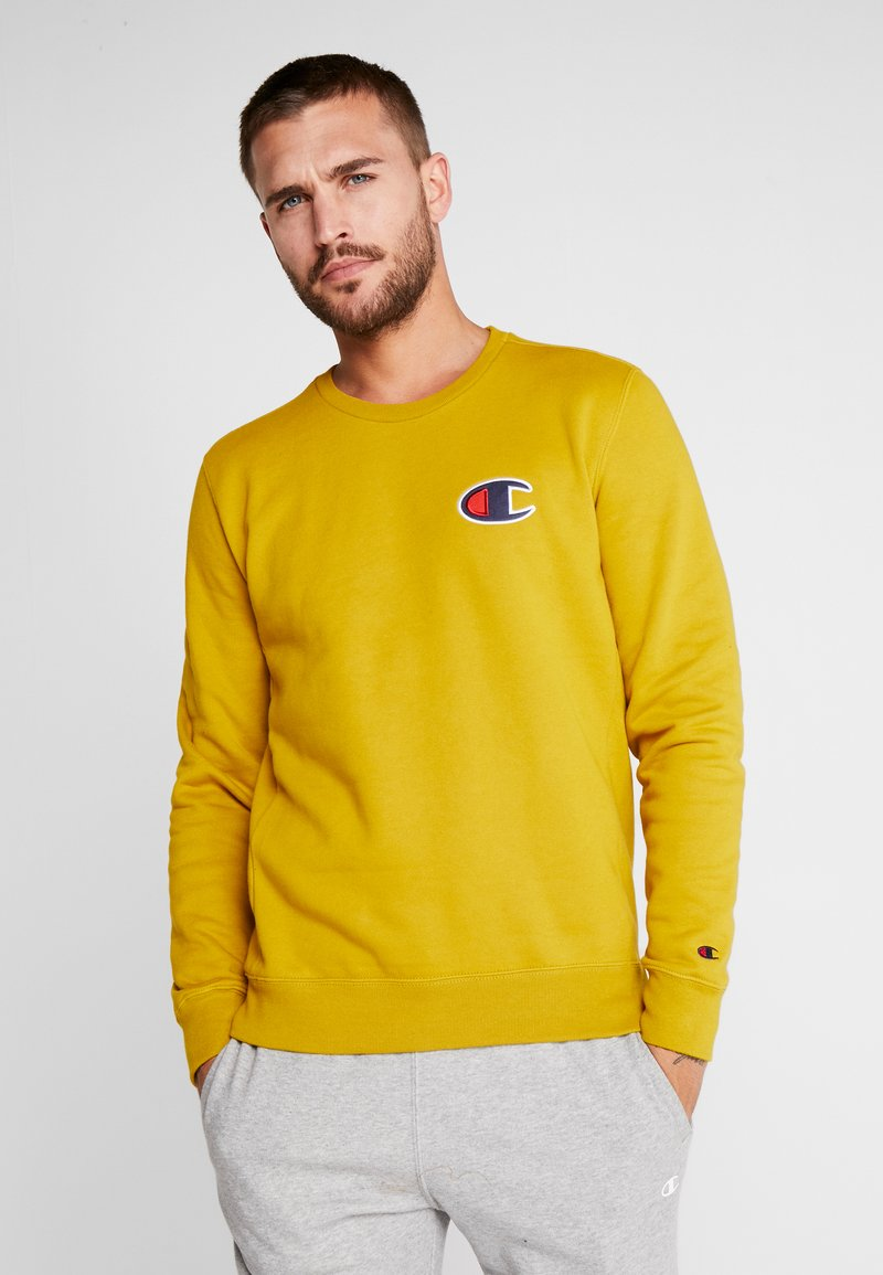 Champion - CREWNECK - Sweatshirt - dark yellow