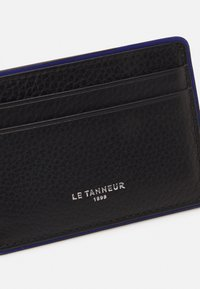 Le Tanneur - AUGUSTIN PORTE CARTES - Portemonnee - noir/le bleu - 3