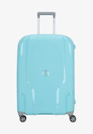 CLAVEL  - Wheeled suitcase - blue/grey