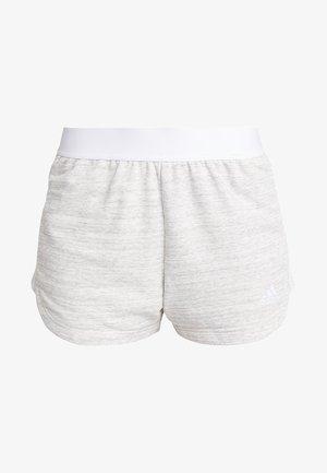 SHORT - Korte broeken - grey/white