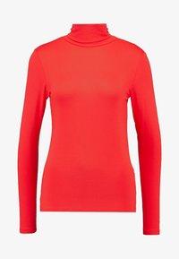 Soaked in Luxury - HANADI ROLLNECK  - Long sleeved top - red - 4