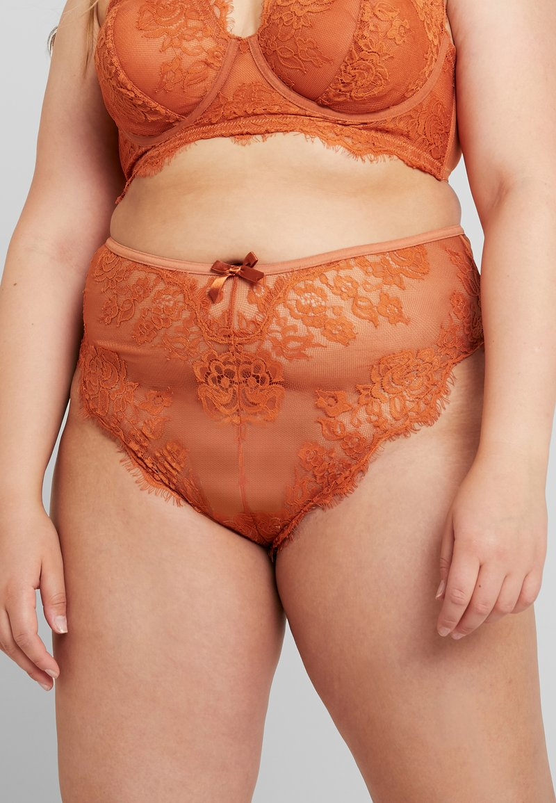 Playful Promises - MORGAN FRENCH KNICKER - Underbukse - rust