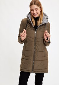 DeFacto - Winter coat - khaki - 0