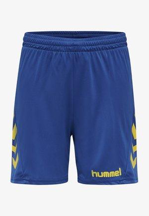 DUO SET - Korte broeken - sports yellow/true blue