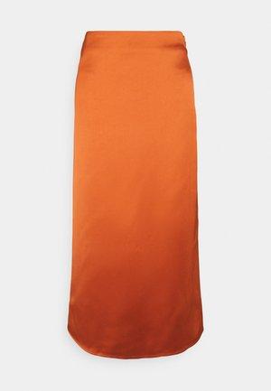 ONLMAYRA LONG SKIRT - Pouzdrová sukně - arabian spice