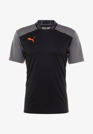 PRO TEE - Print T-shirt - black/red