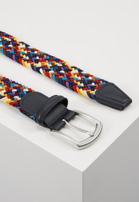Anderson's - STRECH BELT UNISEX - Pletený pásek - multi-coloured/green/dark blue - 2