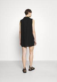 Cotton On - VICKY VEST DRESS - Vestido camisero - black - 2