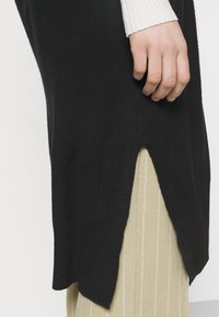 ONLY - ONLLELY LONG BUTTON  - Waistcoat - black - 4