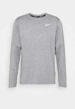 CREW - Long sleeved top - smoke grey/grey fog/silver