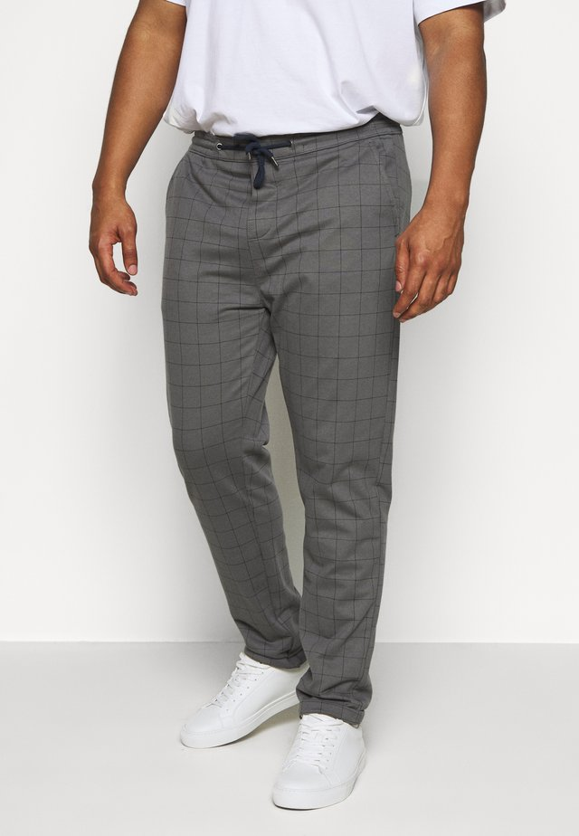 CLUB PANTS ELASTIC WAIST - Tracksuit bottoms - grey melange