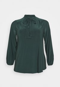 Evans - PUSSYBOW - Long sleeved top - green - 4
