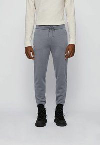 BOSS - KALLIO - Tracksuit bottoms - grey - 0