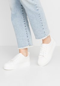 Dorothy Perkins - IYLA LACE UP - Trainers - white - 0