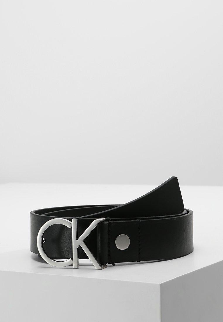 Calvin Klein - LOGO BELT - Cintura - black