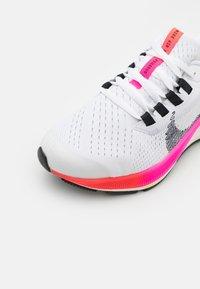 Nike Performance - AIR ZOOM PEGASUS 38  - Zapatillas de running neutras - white/black/football grey/pink blast - 5