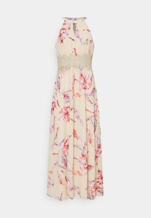VIMILINA FLOWER DRESS - Ballkjole - birch/lana