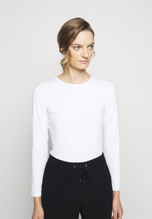 LONG SLEEVE - Long sleeved top - white