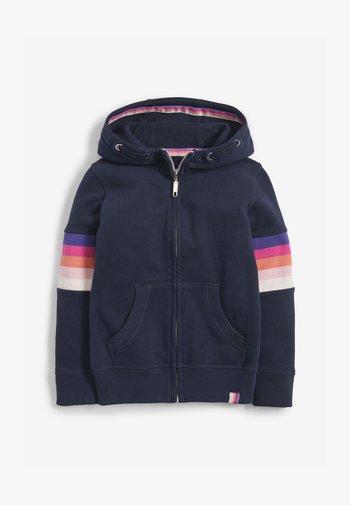 FLURO - Zip-up sweatshirt - blue