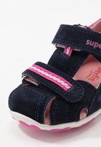 Superfit - FANNI - Baby shoes - blau - 5