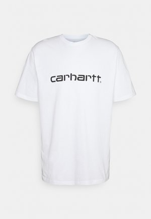 SCRIPT  - Camiseta estampada - white/black