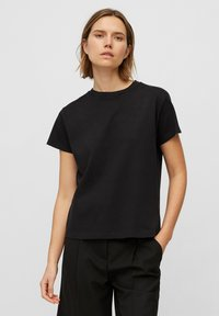 Marc O'Polo - Basic T-shirt - black - 0