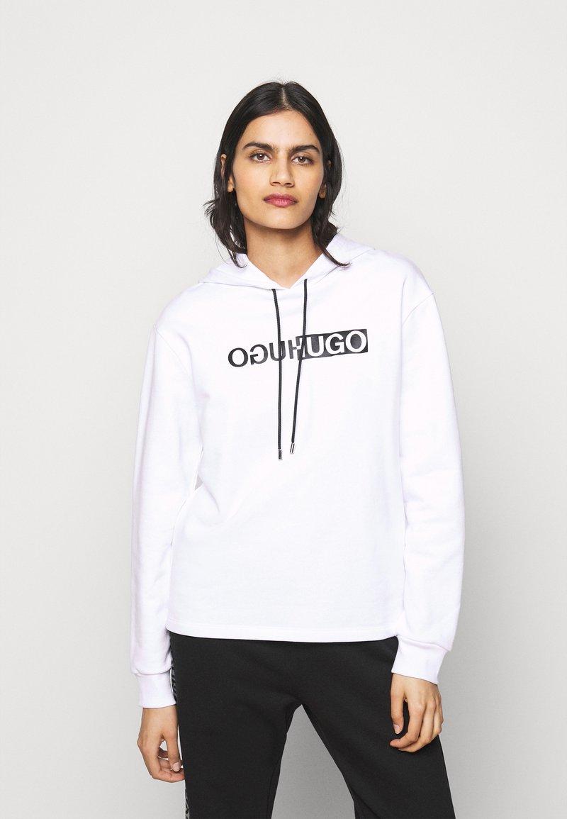 HUGO - NEMOLIA - Sweatshirt - white