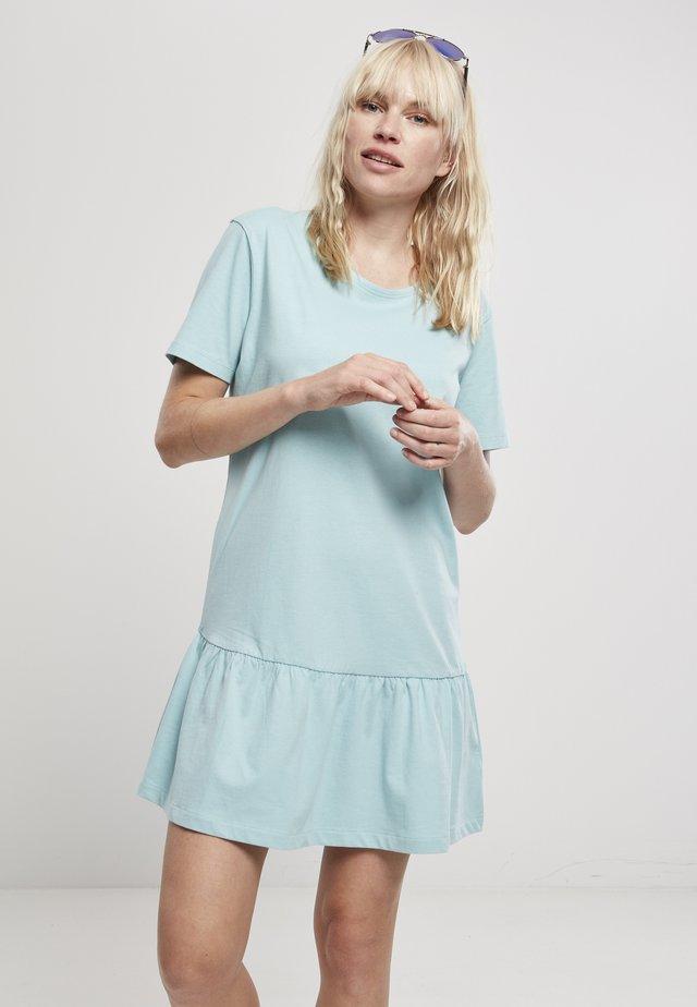 Žerzejové šaty - seablue