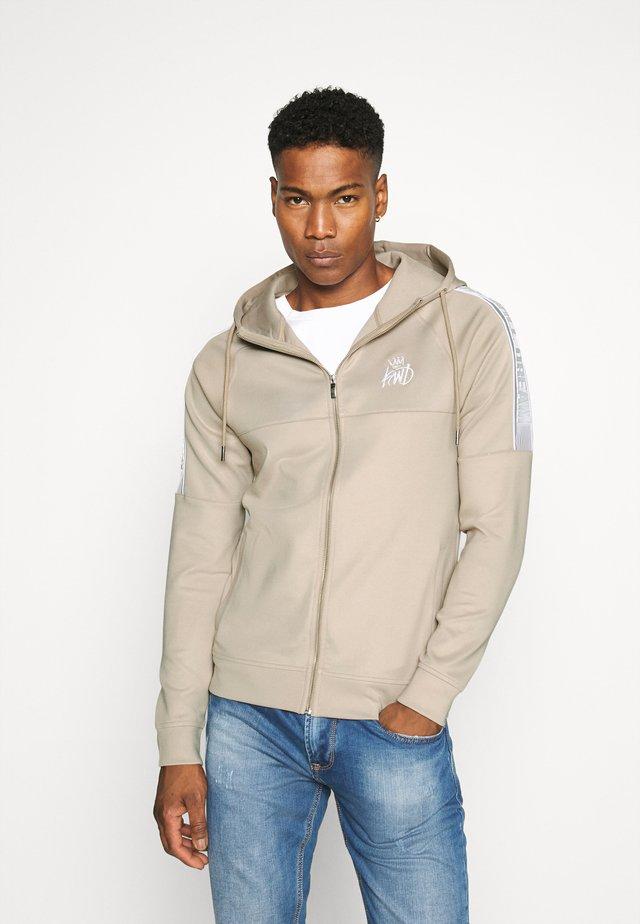 RALLOR  - Zip-up hoodie - sand