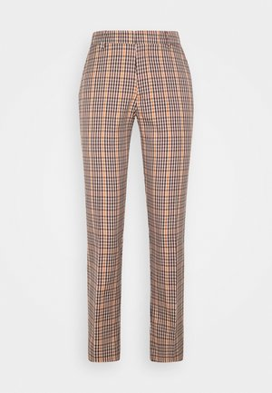 TAILORED SLIM FIT - Broek - brown