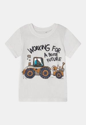 NMMDARSON  - Print T-shirt - snow white