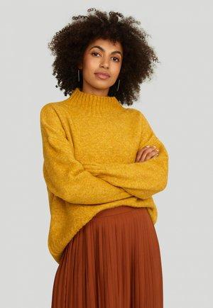Sweter - mustard
