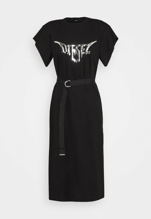 D-FLIX-C DRESS - Trikoomekko - black