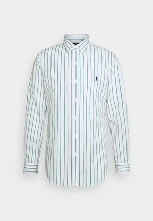 NATURAL - Camicia - green/white