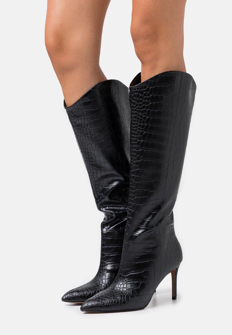 Call it Spring - VEGAN GEORGIAA - High heeled boots - black