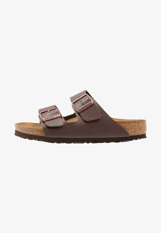 ARIZONA - Slippers - dark brown