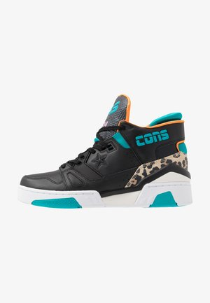 ERX 260 - MID - High-top trainers - black/rapid teal/orange rind