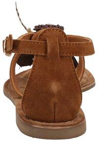 Lazamani - T-bar sandals - tan - 4
