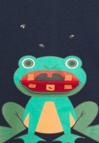 Lemon Beret - SMALL BOYS - Print T-shirt - dress blues - 2
