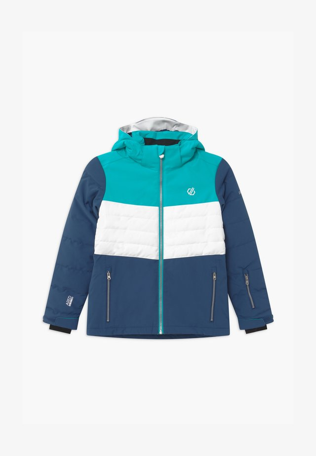 FREEZE UP UNISEX - Veste de snowboard - light blue/white/dark blue