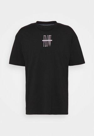 JORSARRISON TEE CREW NECK - T-shirt con stampa - black