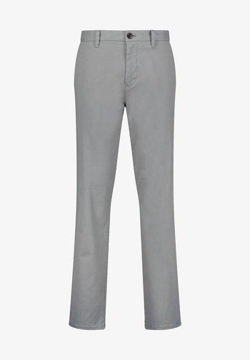 Chino kalhoty - mottled grey