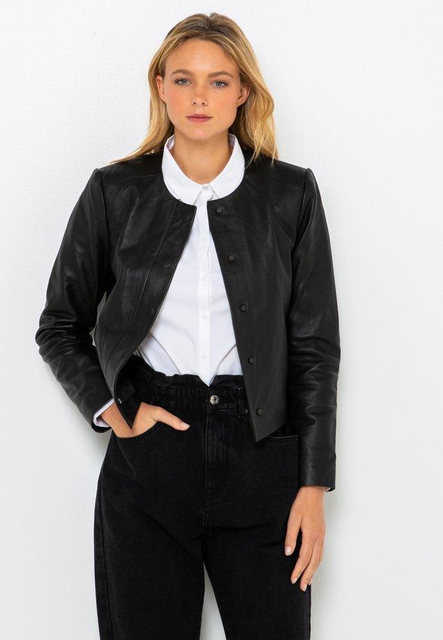Veste en cuir - black