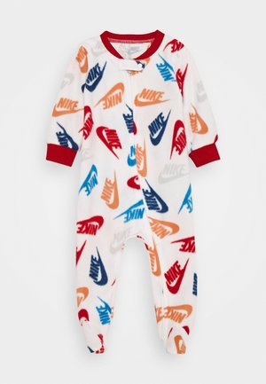 FOOTED COVERALL - Pijama - white
