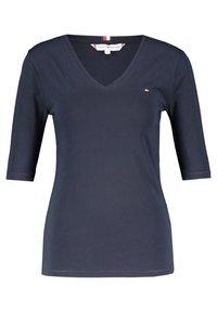 Tommy Hilfiger - Basic T-shirt - marine (52) - 0