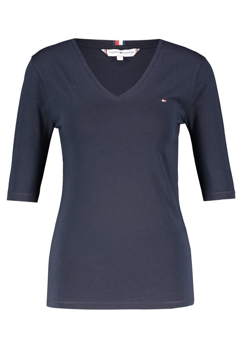 Tommy Hilfiger - Basic T-shirt - marine (52)