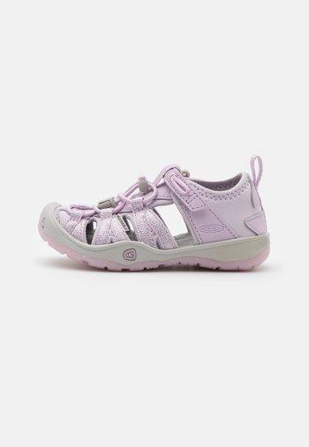 MOXIE  - Walking sandals - lavender fog/metallic