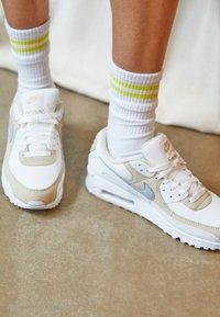Nike Sportswear - AIR MAX 90 - Sneakers laag - summit white/wolf grey/white - 3
