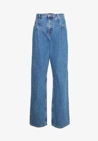 DART PARELLEL - Straight leg jeans - mid blue